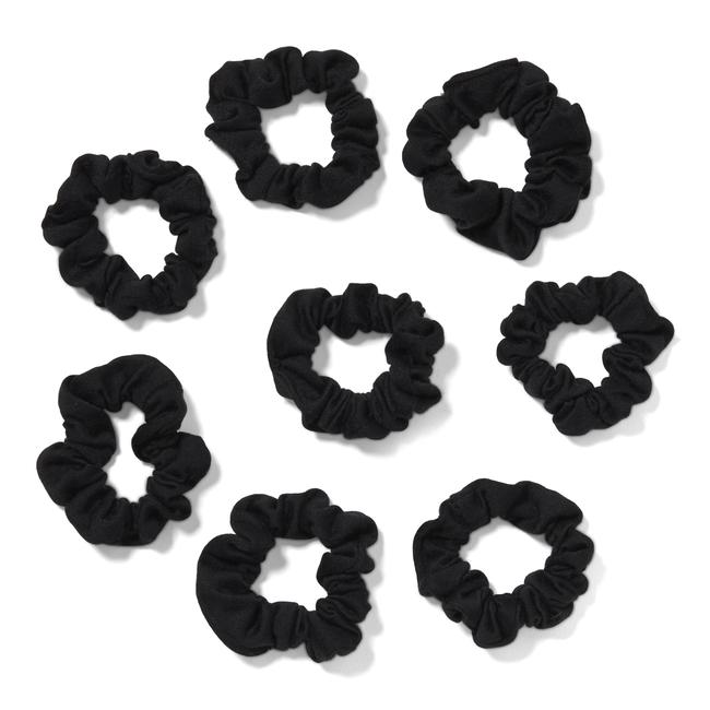 Black Scrunchies