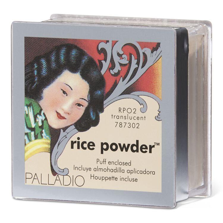 Palladio Natural Rice Loose Finishing Powder Translucent