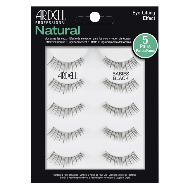 1eed097f698 5 Pack Black Babies Lashes. 99999 by Ardell
