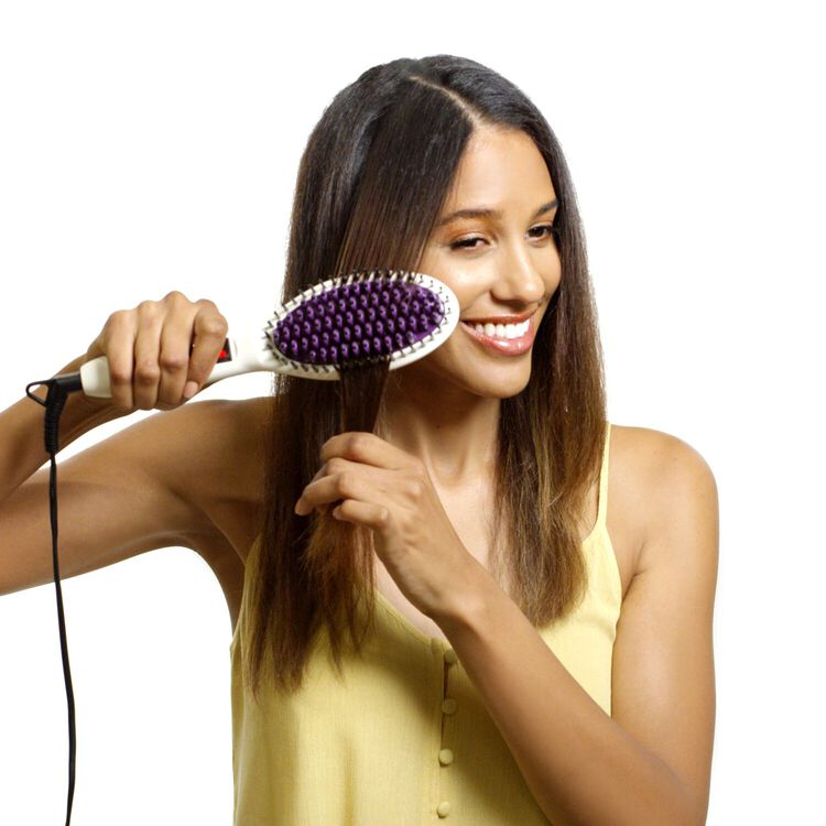 Straight Up Pro Ceramic Straightening Brush