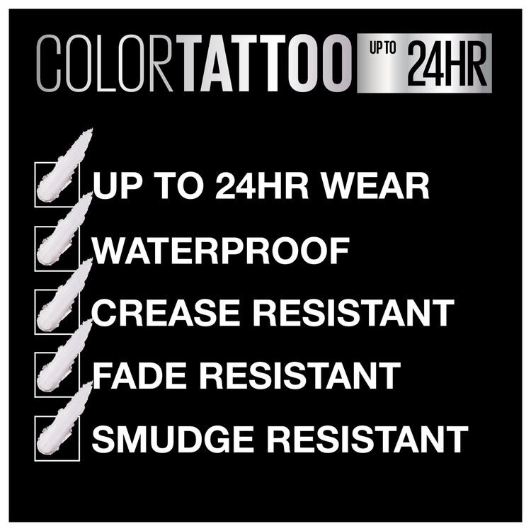 Color Tattoo Cream Eyeshadow Pots