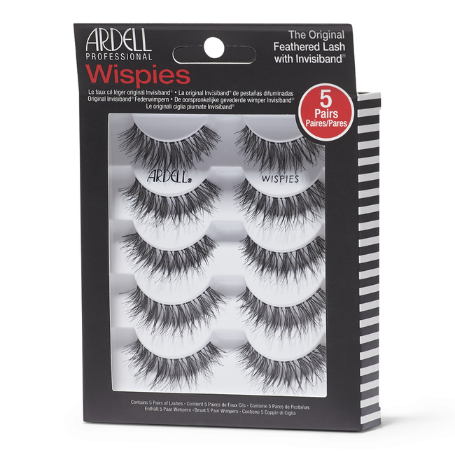 7bfaeaa928b 5-Pack of Black Wispies Lashes by Ardell | Eyelash Extensions ...