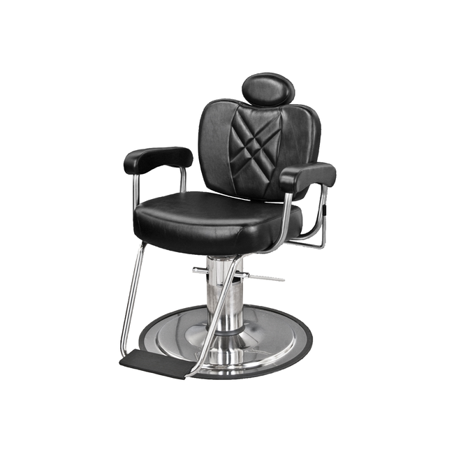 8070 Metro Barber Chair with Headrest