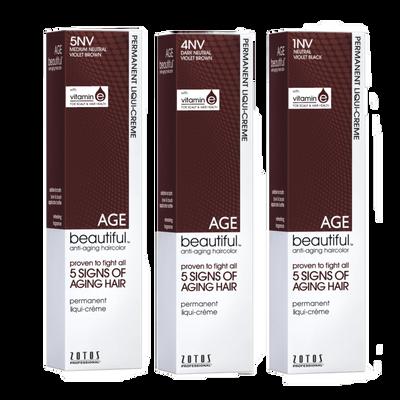 Permanent Liqui Crème Haircolor in Neutral Violet Shades