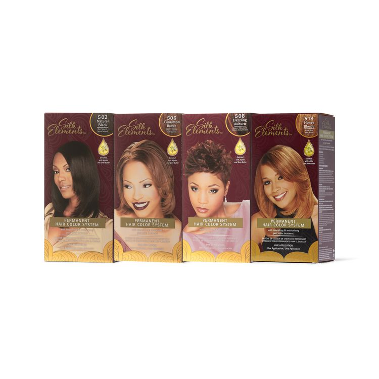 MegaSilk Permanent Hair Color System