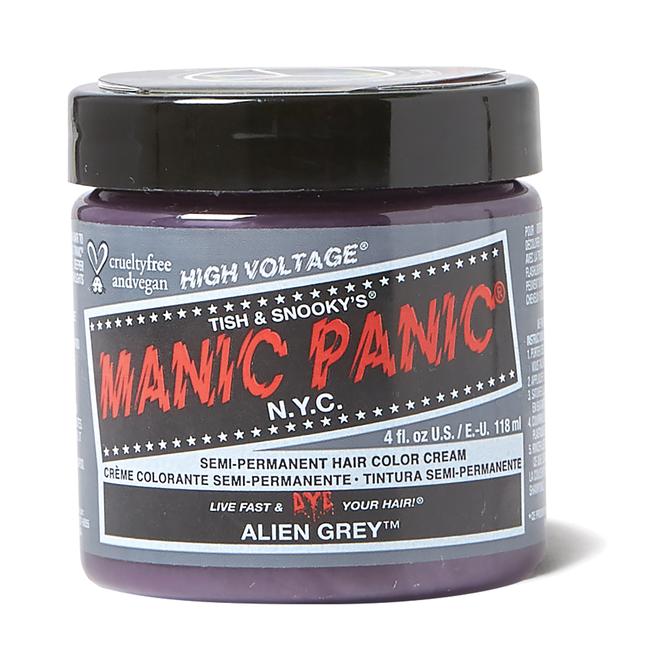 Alien Grey Semi Permanent Hair Color