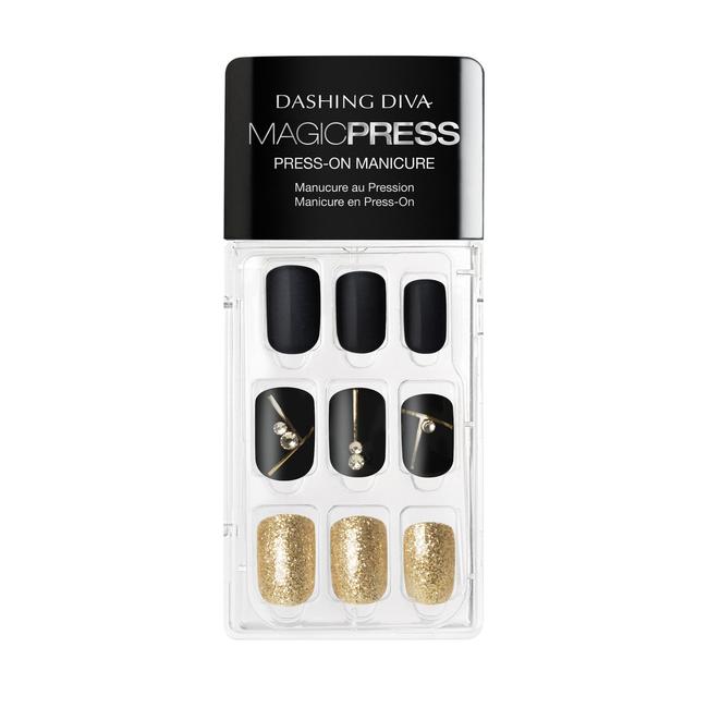 Magic Press on Nails Gold Standard
