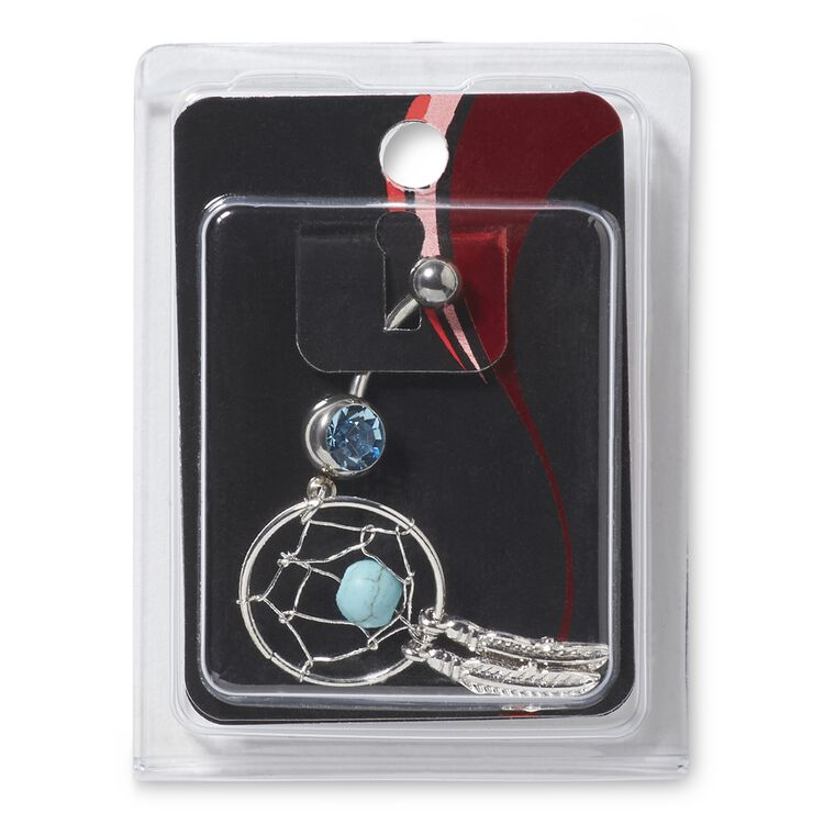 Dreamcatcher 14G Navel Dangle