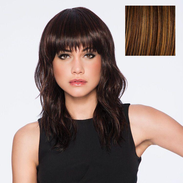 Wave Cut Wig Glazed Cinnamon
