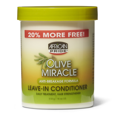 Olive Miracle Anti-Breakage Leave In Conditioner