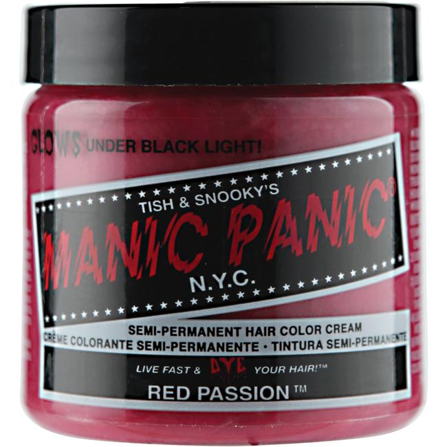 Red Passion Semi Permanent Cream Hair Color