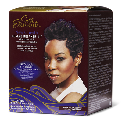New Growth No Lye Relaxer Kit