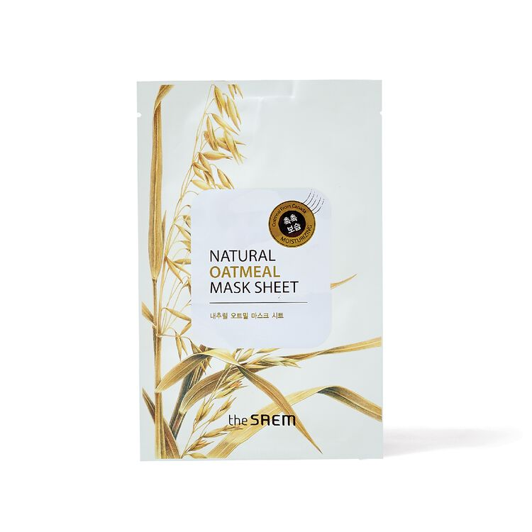 Natural Oatmeal Sheet Mask