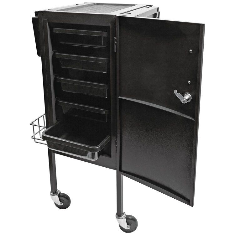 JLS-500 Metal Trolley Black