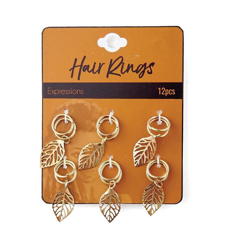 Gold Leaf Hair Ring