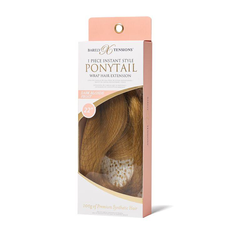 Ponytail Dark Blonde Frost