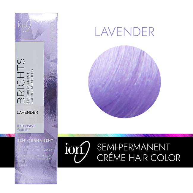 Lavender Semi Permanent Hair Color