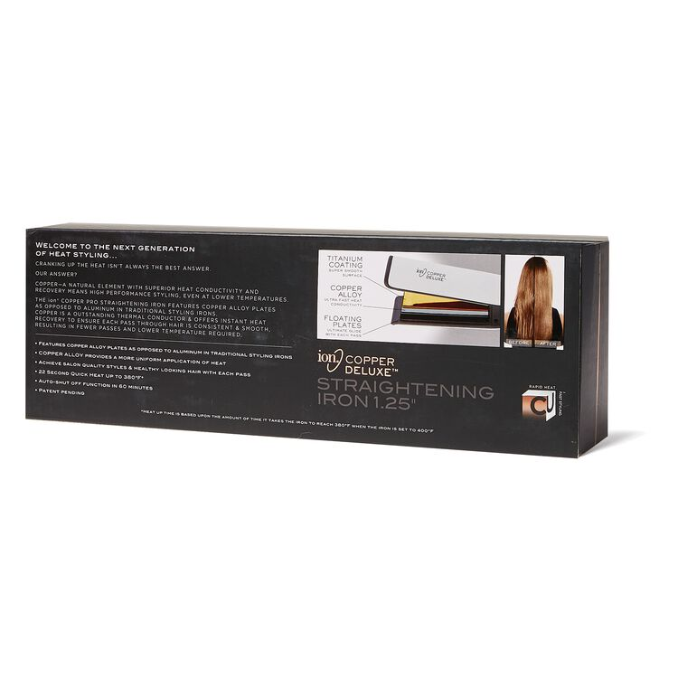 Copper Straightening Iron 1 1/4 Inch
