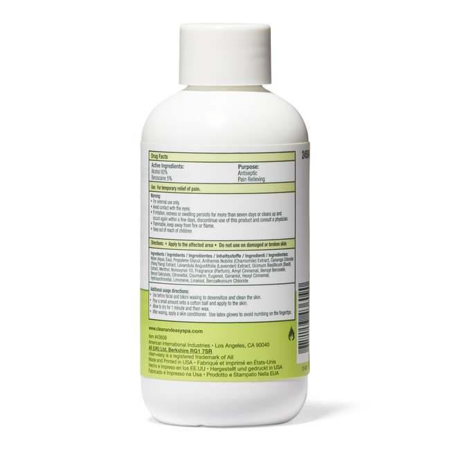 Numbing Antiseptic Lotion
