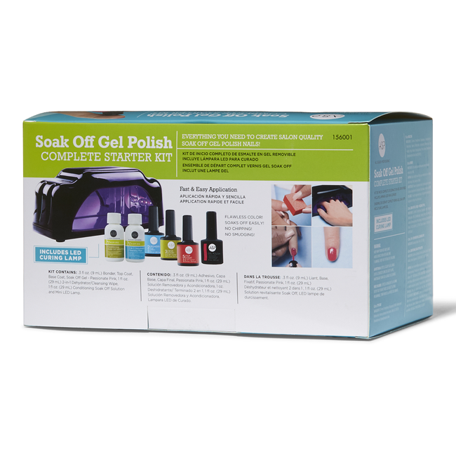 Soak Off Gel Polish Complete Starter Kit