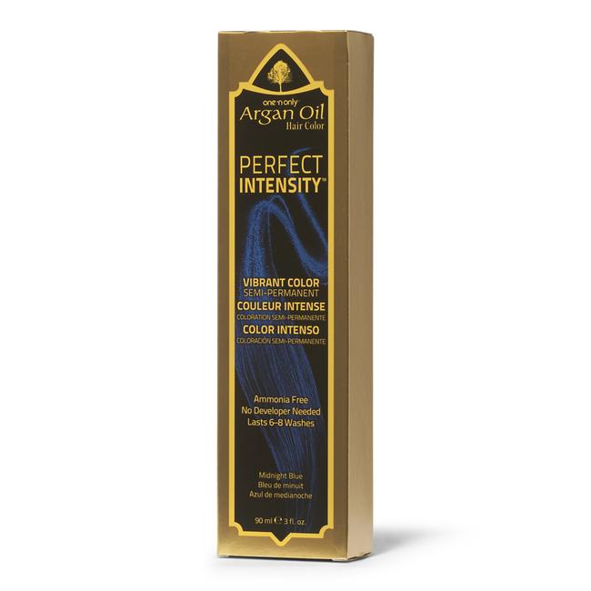 Argan Oil Midnight Blue Semi Permanent Hair Color