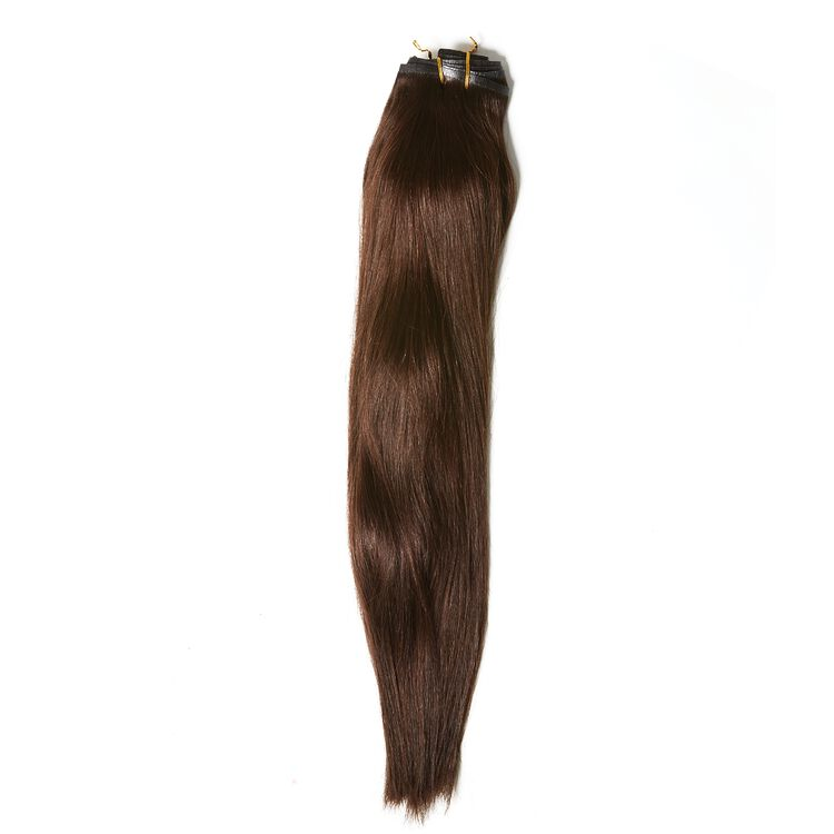 "20"" Ultra-Seamless Clip-In Hair Extensions Dark Brown"