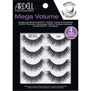4 Pack Mega Volume 252 Lashes