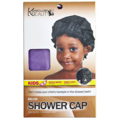 Deluxe Kids Shower Cap