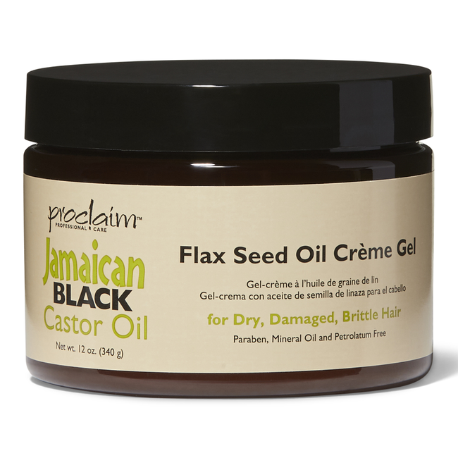 Jamaican Black Castor Oil Flax Seed Creme Gel