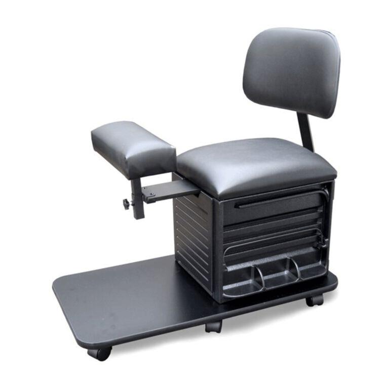 Pedi Board Pedicure Stool with Back Support