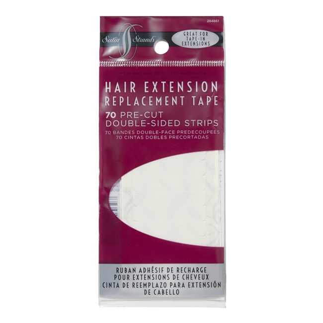 Hair Extension Replacement Tape Strips