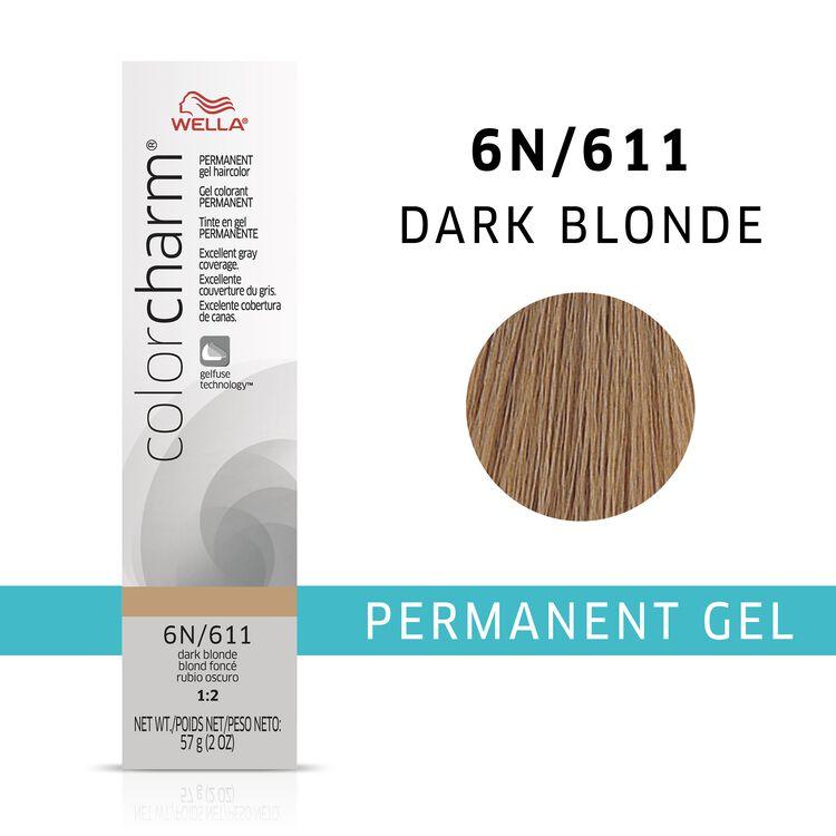 Dark Blonde Color Charm Gel Permanent Hair Color