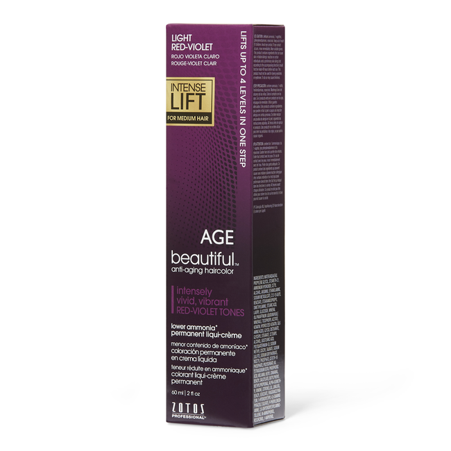 Intense Lift Permanent Liqui-Creme Hair Color Light Red Violet