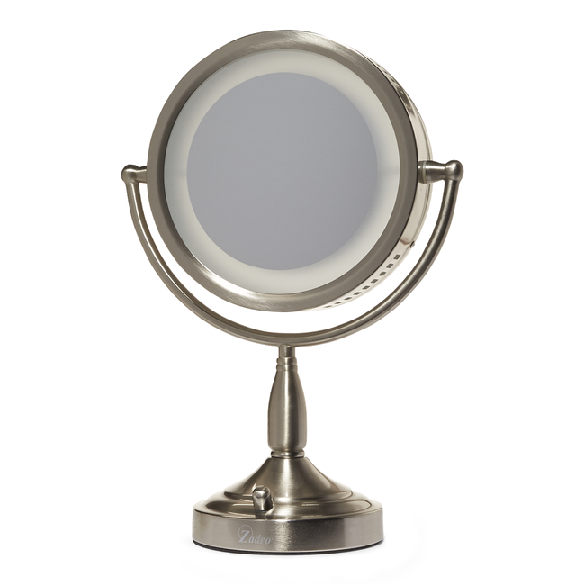 8X-1X Lighted Vanity Makeup Mirror