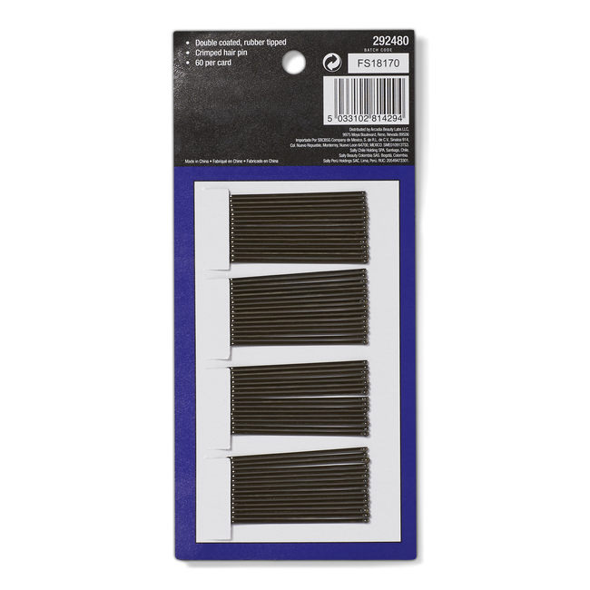Professional Supreme Brown Bobby Pins 60 Ct