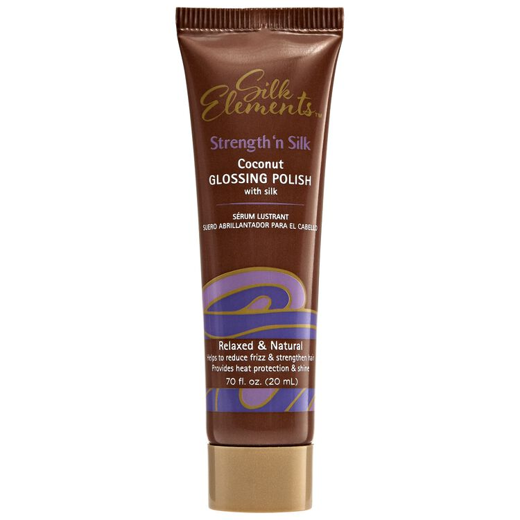 Strength 'n Silk Coconut Glossing Polish Travel Size