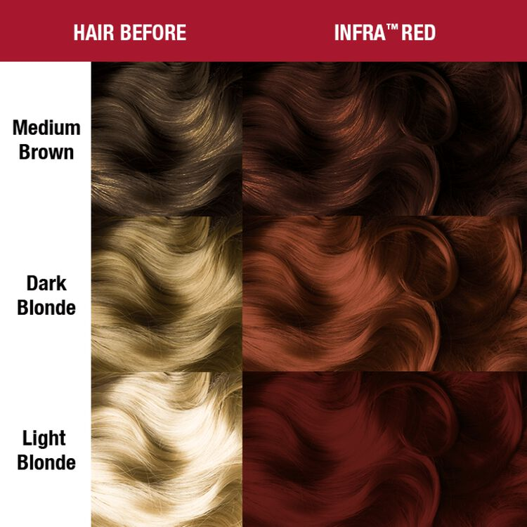 Infra Red Semi Permanent Cream Hair Color