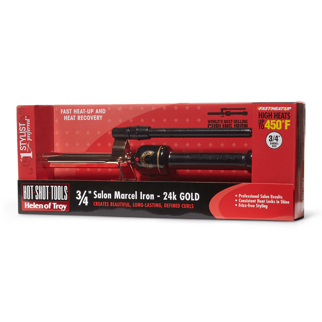 Gold Series Marcel Curling Iron 3/4 Inch