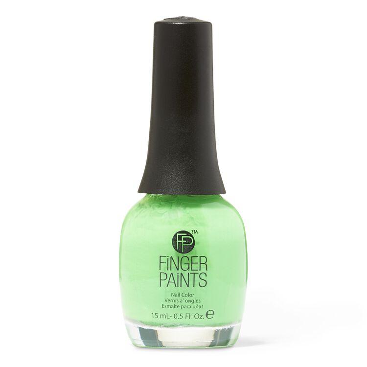 Silkscreen Green Nail Color