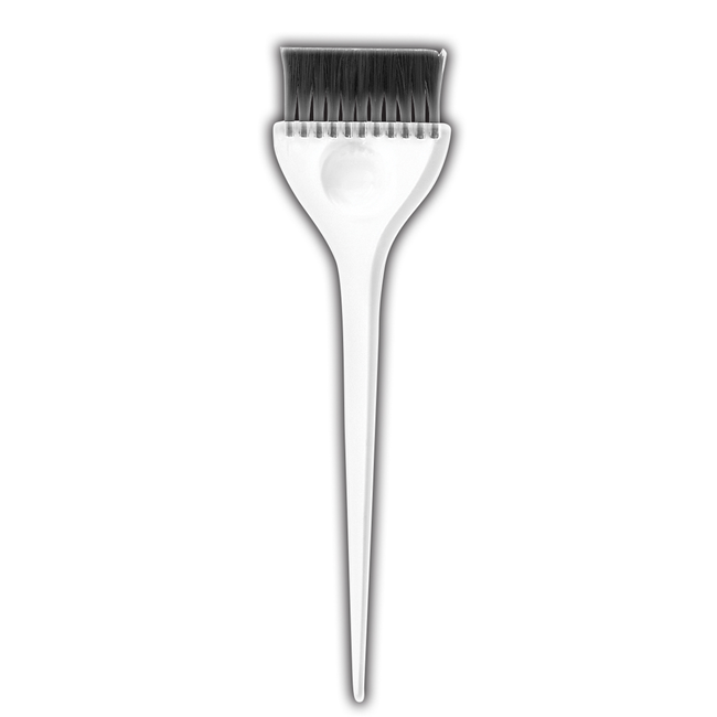Extra-Wide Tint Brush with Clear Handle