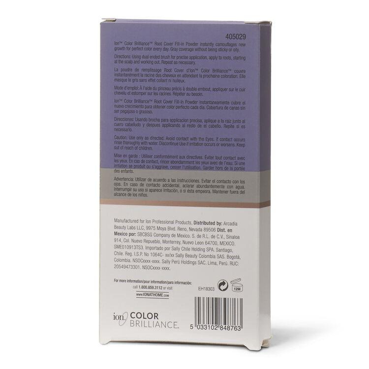 Dark Brown/Black Root Cover Fill-in Powder