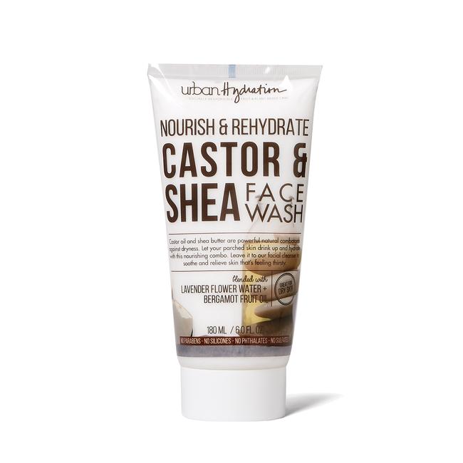 Nourish & Rehydrate Castor & Shea Face Wash