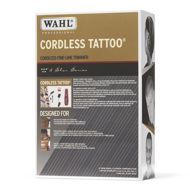 5 Star Cordless Tattoo Trimmer