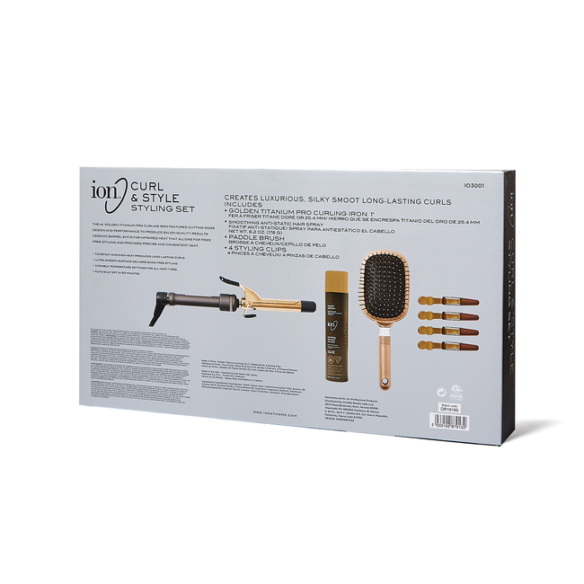 Ion Curl & Style Styling Kit