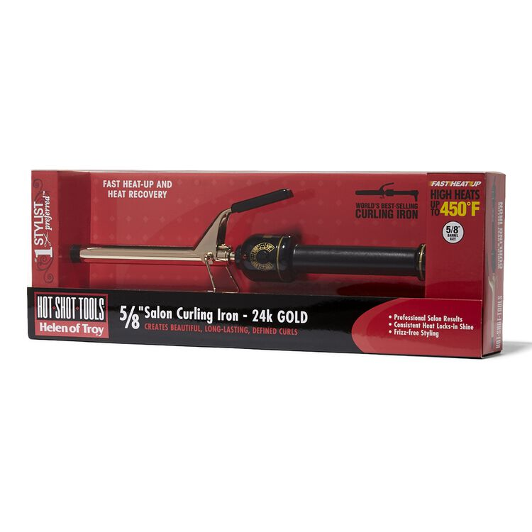 Gold Series Spring Curling Iron 5/8 Inch