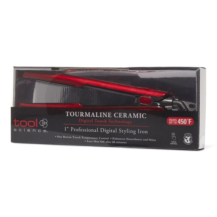 Digital Touch Ceramic Tourmaline Flat Iron