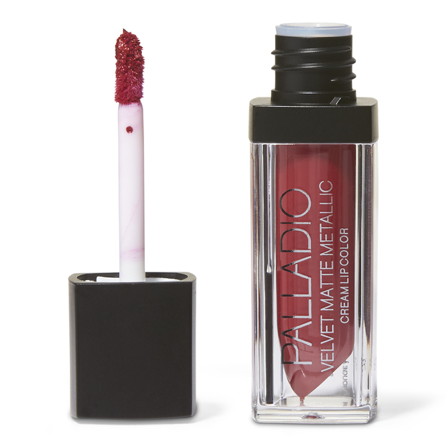 Velvet Matte Metallic Cream Lip Color Ritzy