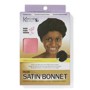 Deluxe Satin Kids Bonnet