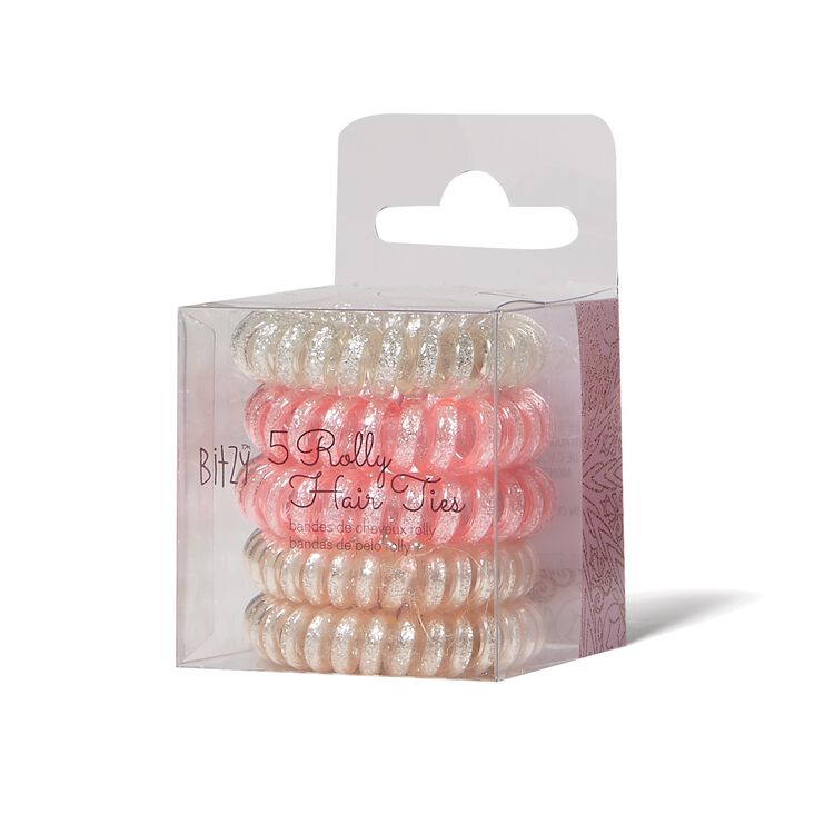 Rolly Hair Ties 5 Count