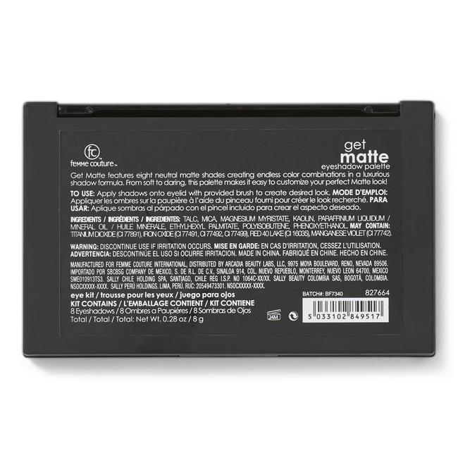 Get Matte Eyeshadow Palette
